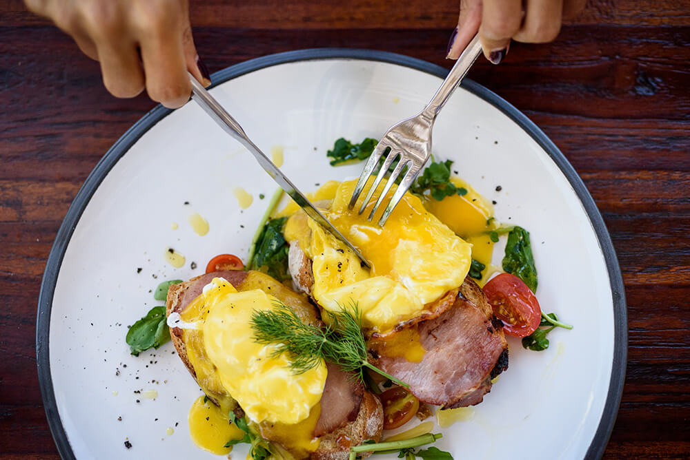 Eggs Benedict in Cape Town